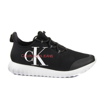 Sneakers Calvin Klein Sneakers high top barbati Calvin Klein negri 2370BPS0707N