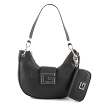 Posete Guess Poseta tote femei Guess neagra side wings 910POSS8003N