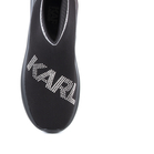 Sneakers High-top femei Karl Lagerfeld negri 2050DG61855N