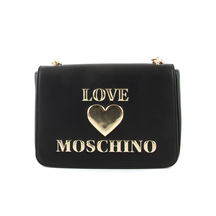 Posete LOVE MOSCHINO  Poseta convertible crossbody Love Moschino neagra 2320POSS4035N